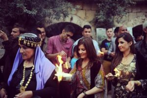 Yazidi New Year celebration