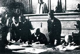 The peace treaty that was signed in the Swiss town of Lausanne on July 24, 1923 between Turkey and the Allied powers.